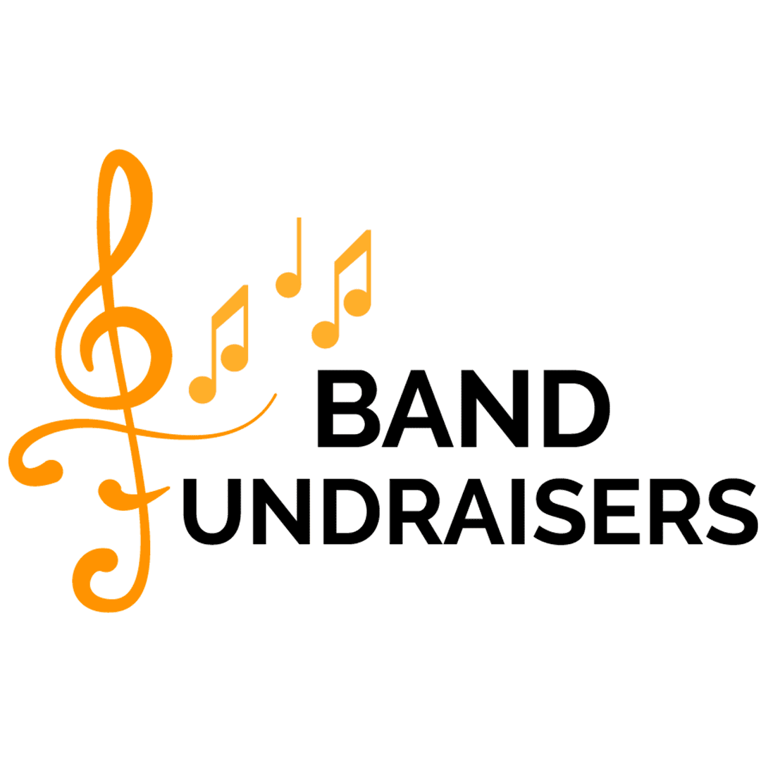 band fundraisers logo gold