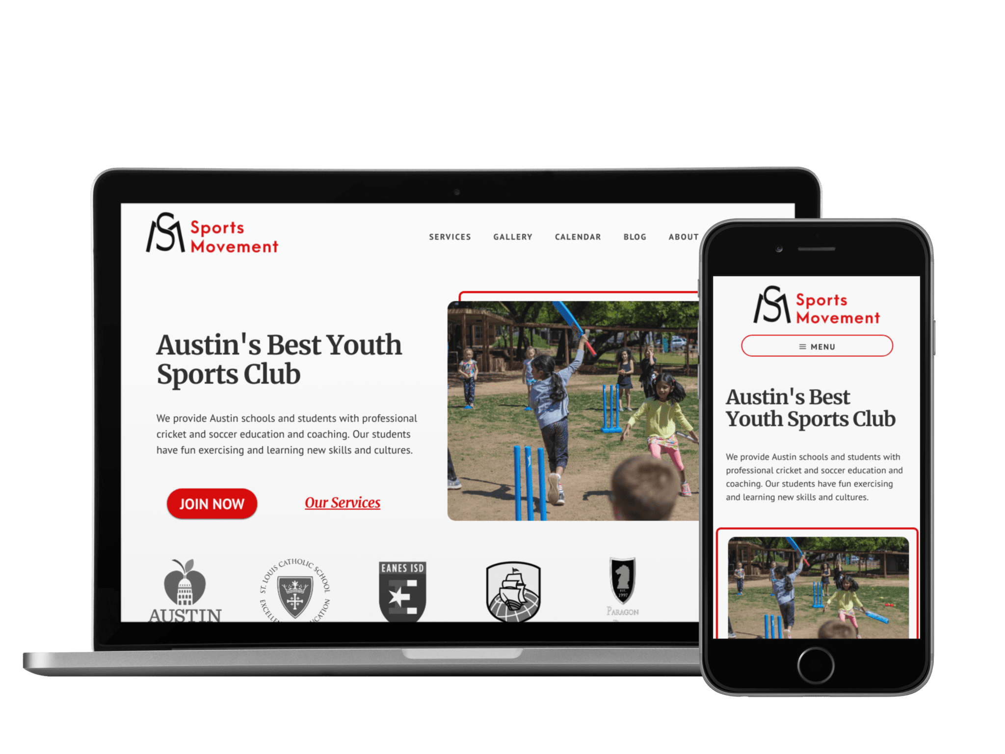 Client: Sports Movement | Industry: Sports Education | Platform: WordPress