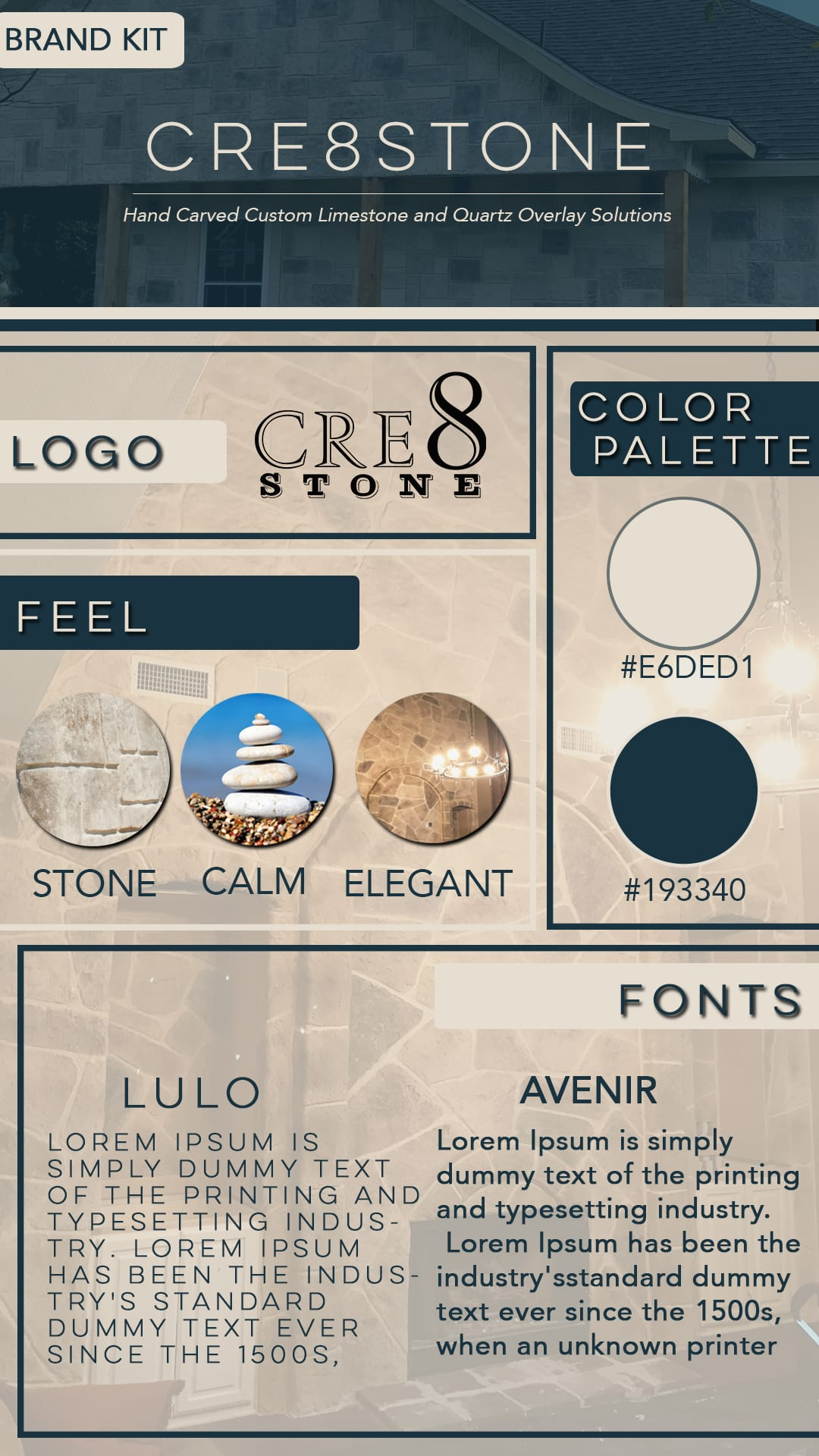 Cre8stone Brand Kit