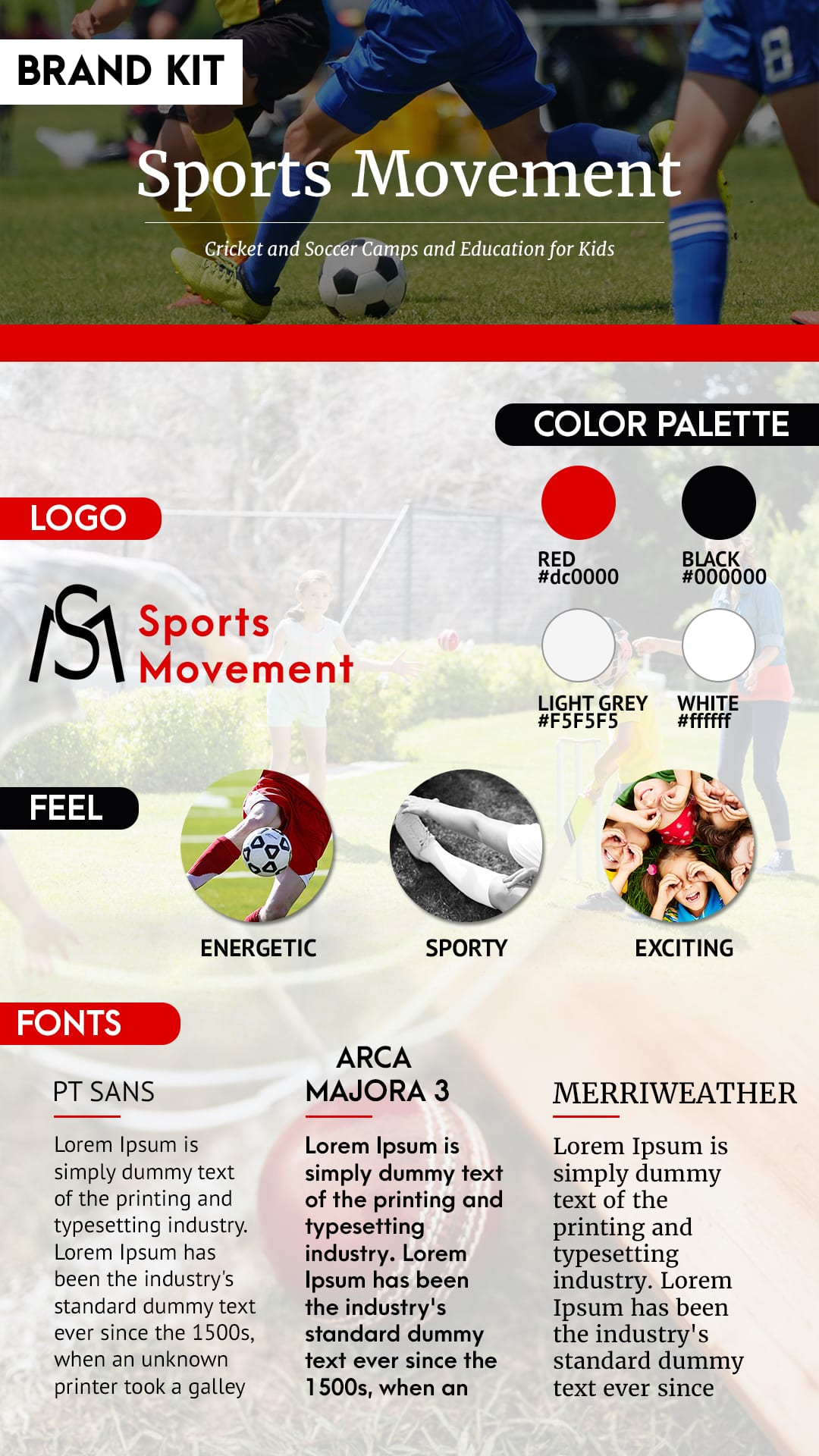 Sports Movement Brand Kit