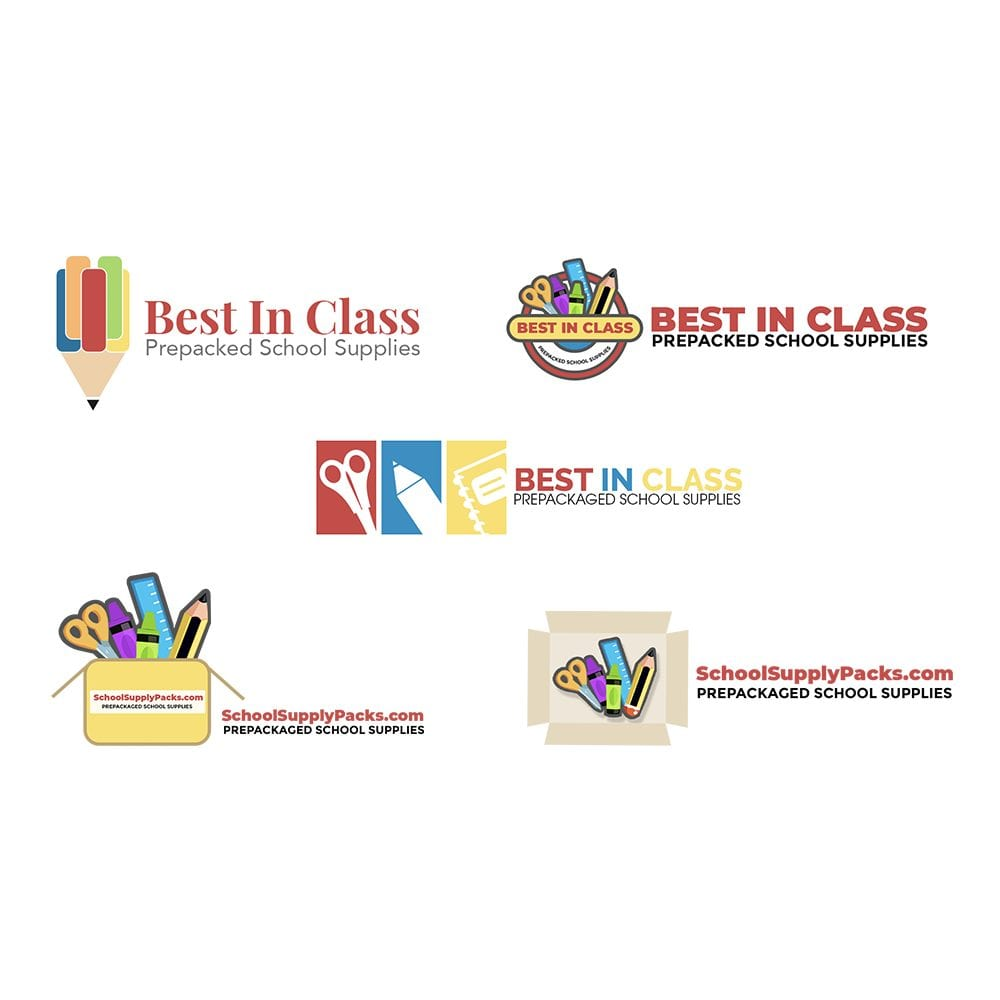 Best in Class School Supplies Logos