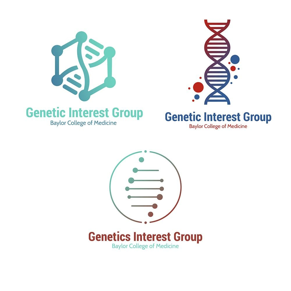 Genetic Interest Group at Baylor College of Medicine Logos