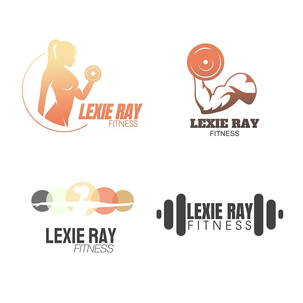 lexie ray fitness logos