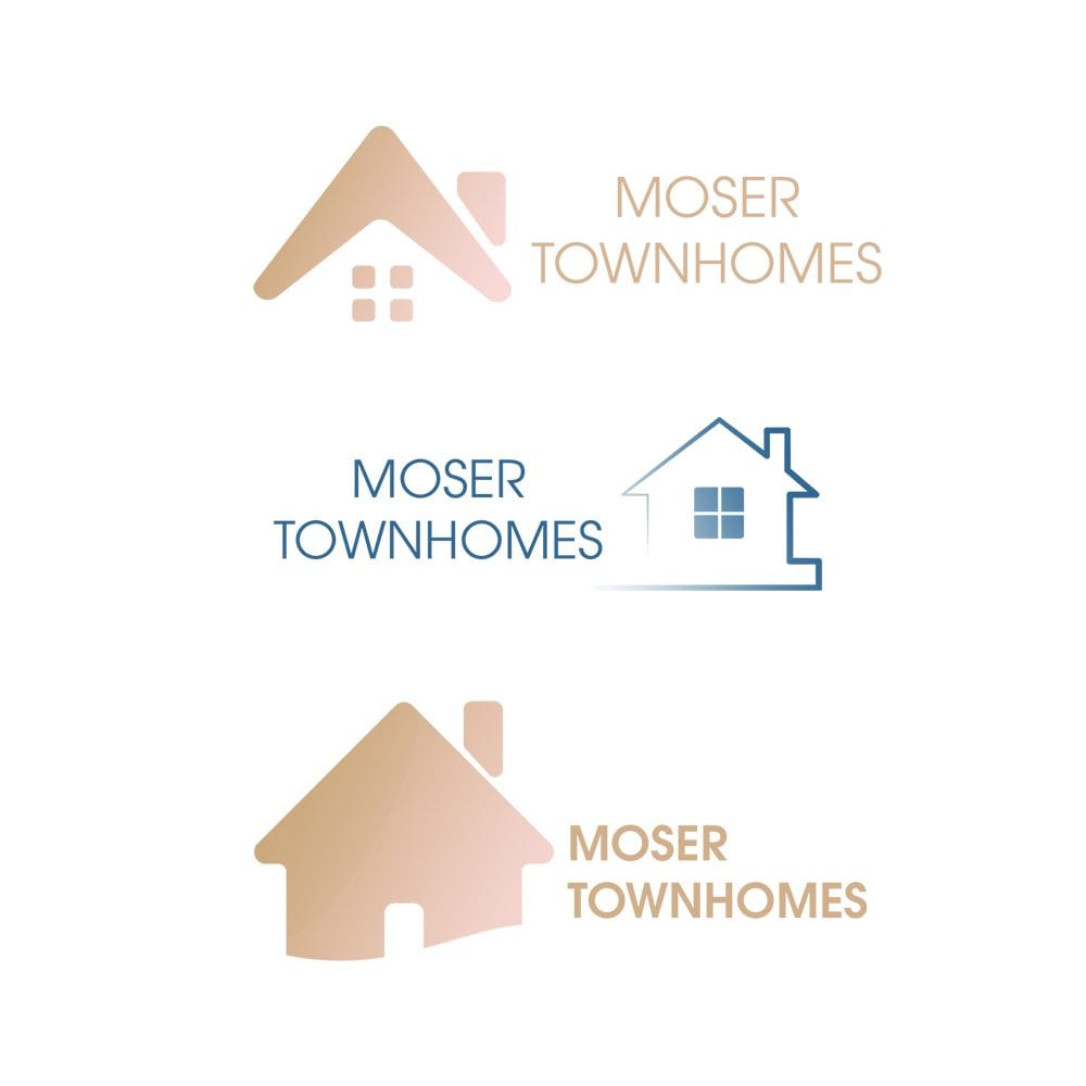 Moser Townhomes Logos