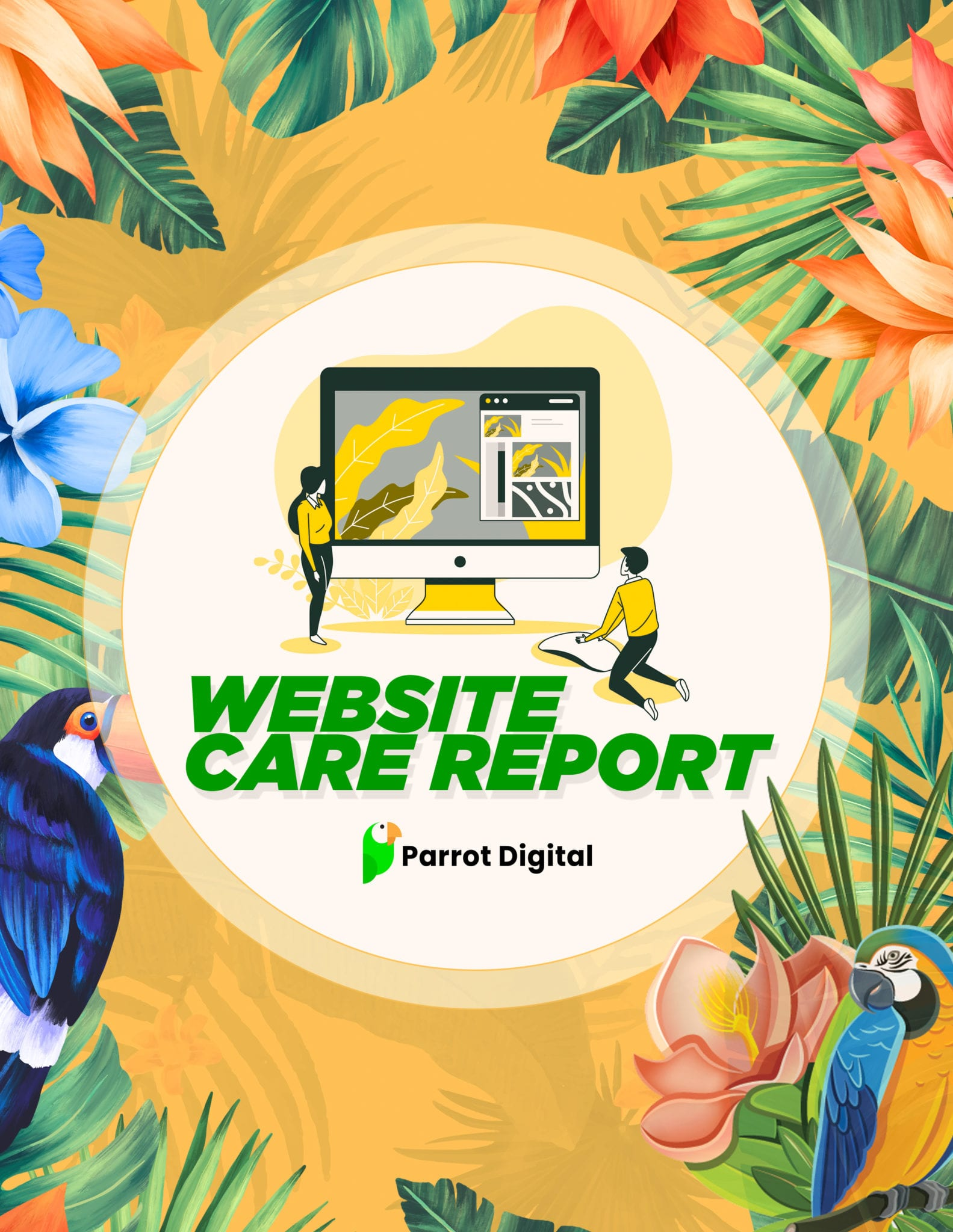 WEBSITE CARE REPORT
